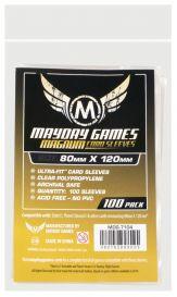 Протекторы Mayday (100 шт., 80x120 мм): стандарт прозрачные