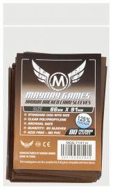 Протекторы Mayday (80 шт., 66x91 мм): стандарт коричневые