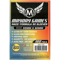 Протекторы Mayday (100 шт., 55x80 мм): прозрачные
