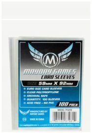 Протекторы Mayday (100 шт., 59x92 мм): стандарт прозрачные