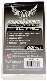 Протекторы Mayday (100 шт., 61x112 мм): стандарт прозрачные