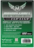 Протекторы Mayday (100 шт., 66x89 мм): стандарт прозрачные