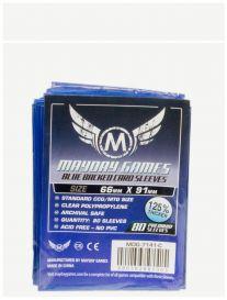 Протекторы Mayday (80 шт., 66x91 мм): стандарт синие
