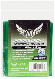 Протекторы Mayday (80 шт., 66x91 мм): стандарт зеленые