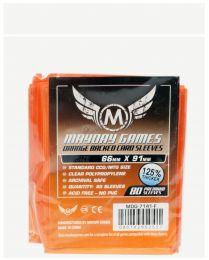Протекторы Mayday (80 шт., 66x91 мм): стандарт оранжевые