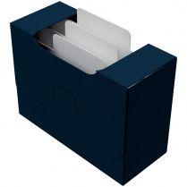 Картотека UniqCardFile Standart 40 mm, синяя