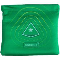Мешочек Uniqbag 15 MagneticWave (150х150 мм, зелёный)