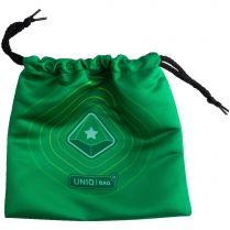 Мешочек Uniqbag 20 StringWave (200х200 мм, зелёный)