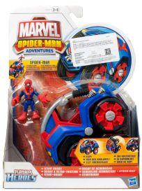 Spider man. Фигурка и машинка