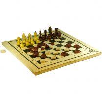 Набор классических игр: Шахматы, шашки и нарды (400x210x35 мм)