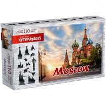Wooden Citypuzzles Moscow