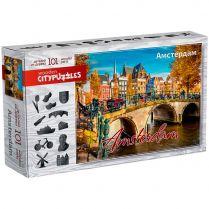 Пазл Wooden Citypuzzles: Амстердам