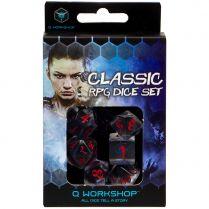 Набор кубиков Classic, 7шт., Translucen/Blue/Red