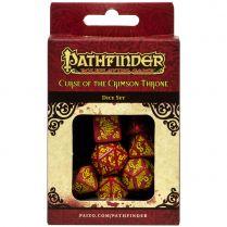 Набор кубиков Pathfinder, 7шт., Curse of the Crimson Throne