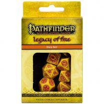Набор кубиков Pathfinder, 7шт., Legacy of Fire