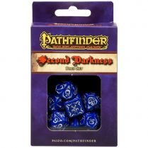 Набор кубиков Pathfinder, 7шт., Second Darkness