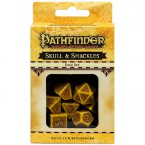 Набор кубиков Pathfinder, 7шт., Skull & Shackles