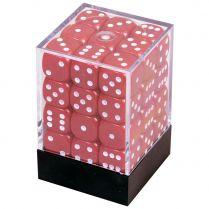 Набор кубиков D6. Красные 12 мм. (36 шт.)