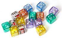 Кубик в кубике D6, 19мм: разные цвета (в ассорт.)