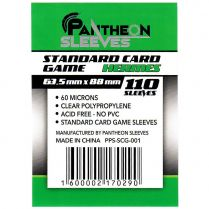 Протекторы Pantheon Sleeves Hermes Standart Card Game стандарт (110 шт., 63.5x88 мм)