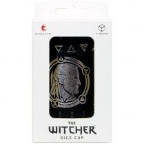 Стакан для кубиков The Witcher Dice Cup. Geralt Sword of Destiny, кожаный