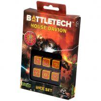 Набор кубиков Battletech, 6 шт., House Davion