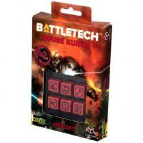 Набор кубиков Battletech, 6 шт., House Kurita