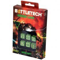 Набор кубиков Battletech, 6 шт., House Liao