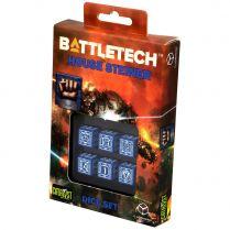 Набор кубиков Battletech, 6 шт., House Steiner