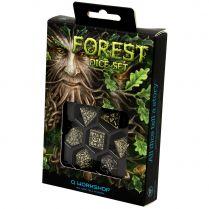 Набор кубиков Forest 3D, 7 шт., Beige & black