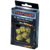 Набор кубиков Starfinder, 7 шт., Threefold Conspiracy