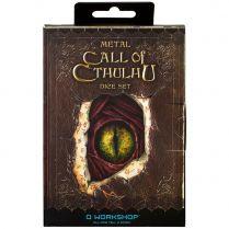 Набор кубиков Metal, 7 шт., Call of Cthulhu