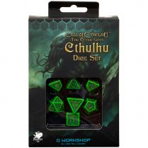 Набор кубиков Call of Cthulhu, 7 шт., The Outer Gods Cthulhu