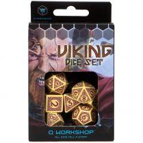 Набор кубиков Viking, 7 шт., Beige/Burgundy