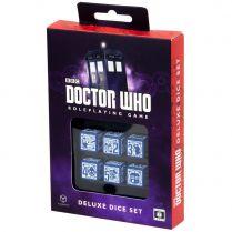 Набор кубиков Doctor Who 6D6 RPG Deluxe, 6 шт.