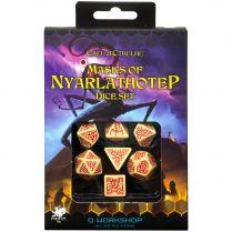 Набор кубиков Call of Cthulhu, 7 шт., Masks of Nyarlathotep