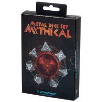 Набор кубиков Metal Mythical, 7 шт.