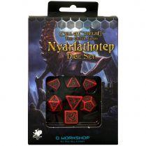 Набор кубиков Call of Cthulhu, 7 шт., The Outer Gods Nyarlathotep