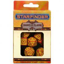 Набор кубиков Starfinder, 7 шт., Dawn of Flame