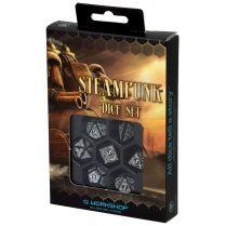 Набор кубиков Steampunk, 7 шт., Black/White