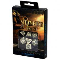 Набор кубиков Steampunk, 7 шт., Beige/Black