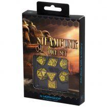 Набор кубиков Steampunk, 7 шт., Brown/Yellow
