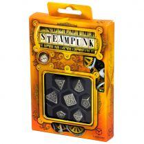 Набор кубиков Metal Steampunk, 7 шт.