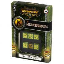Набор кубиков D6 Warmachine Mercenaries Faction, 6 шт.