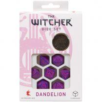Набор кубиков The Witcher Dice Set: Dandelion – The Hearts' Conqueror, 7 шт.