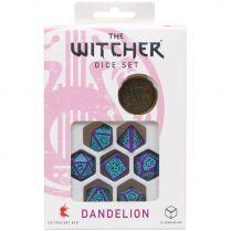 Набор кубиков The Witcher Dice Set: Dandelion – Half a Century of Poetry, 7 шт.