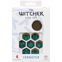 Набор кубиков The Witcher Dice Set: Yennefer – Sorceress Supreme, 7 шт.