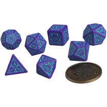 Набор кубиков The Witcher Dice Set: Dandelion – Half a Century of Poetry, 7 шт.