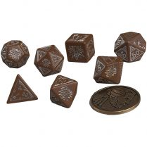 Набор кубиков The Witcher Dice Set: Geralt  – The Roach's Companion, 7 шт.