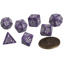 Набор кубиков The Witcher Dice Set: Yennefer – Lilac and Gooseberries, 7 шт.